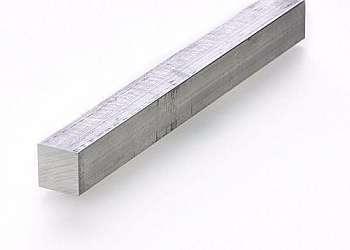 Perfil de aluminio quadrado